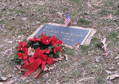 Гроб Вернера фон Брауна
