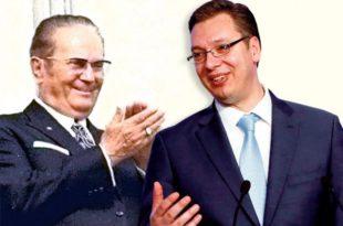 Да би избегао Хашки трибунал уцењени Вучић ће уз помоћ инсталираних западних економских убица да уништи Србију!