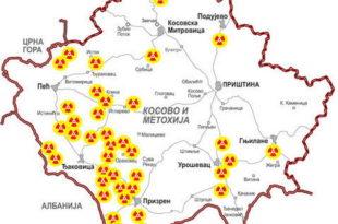 НАТО само на Косово и Метохију бацио 10 тона уранијума!