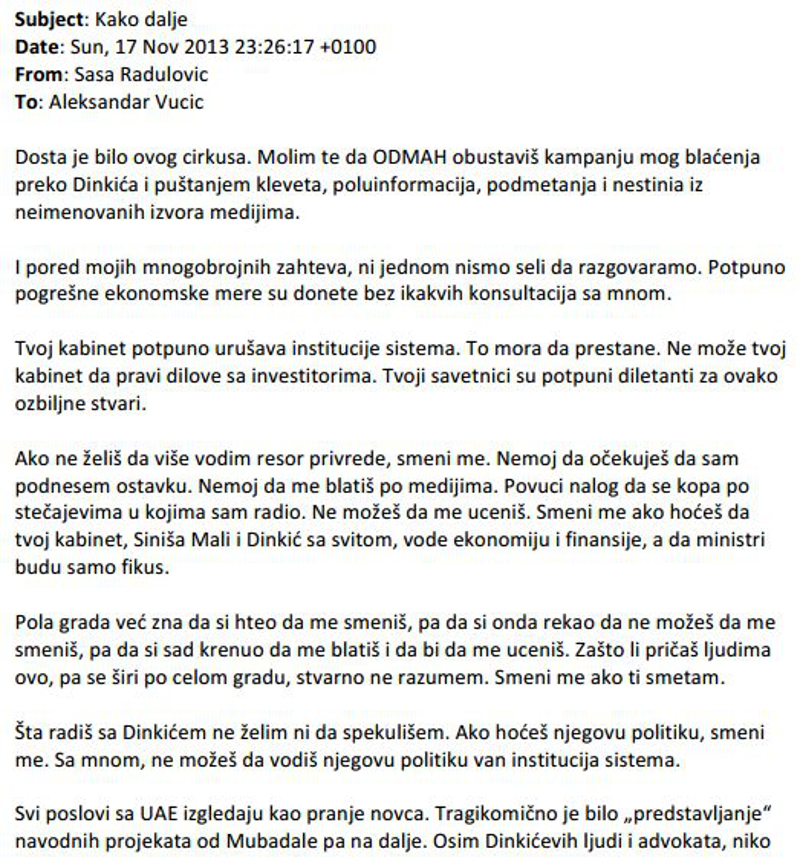 pismo sase