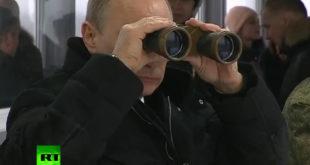 Путин у посети завршној фази војних вежби у Лењинградској области (видео) 9