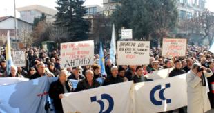 Режимски лопови спремају продају уништеног Јумка хрватском тајкуну док радници Јумка свакодневно протестују 3