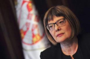 Уместо у затвору Маја Гојковић завршила не месту председника скупштине Србије 13