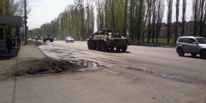 Руска војска иде ка Украјини (видео) 1