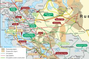Сви гасоводи воде у Русију