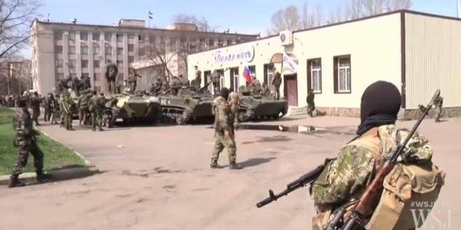 Украјински падобранци прелазе на страну народа у Славјанску! (видео) 1