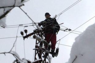 Због снега без струје 15.000 домаћинстава око Златибора