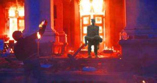 Четврта годишњица стравичног масакра у Одеси за који нико није кажњен (видео) 9