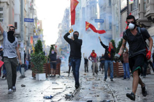 """""""Прослава"""" празника рада у Турској (видео) 8"""