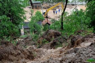 Баjина Башта наjугрожениjа клизиштима, ситуациjа све гора