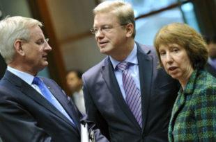 Дупли стандарди европских лицемера Кетрин Ештон и Штефана Филеа!