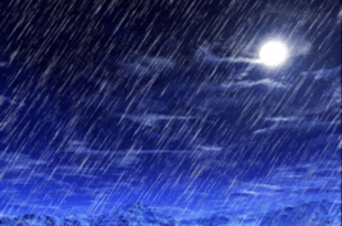 У току вечери и ноћи обилне падавине