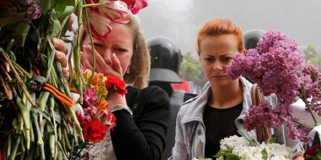 Грађани Одесе блокирали зграду полиције са захтевом да се казне кривци за људске жртве 1
