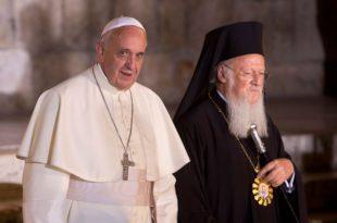 АНАКСИОС!!! Папа и фанариотски патријарх Вартоломеј на Гробу Господњем (видео)