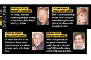 СТРАШНО! Пензионери једва преживљавају са 200 динара дневно