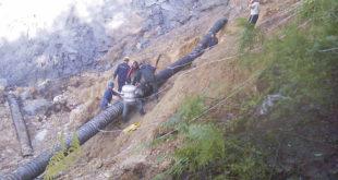 Крупањ: Текла сива вода из рудника 2