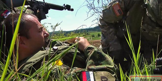 """ЕКСКЛУЗИВНО: """"Српски војници"""" на НАТО вежбама са шиптарима у Немачкој! (видео)"""