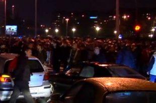 Дошли да помогнемо па добили батине од панчевачке жандармерије! ШАБАЦ 16.05.2014 (видео)