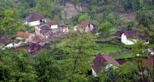 Село Ребељ прогутала земља (видео) 2