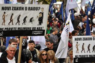 Синдикати напуштају преговоре о Закону о раду