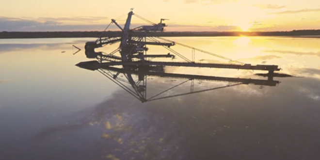 Језеро које је некад било рудник Колубара (видео) 1