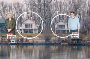 НЕЋЕ ГРОМ У КОПРИВЕ: Николићева нелегална викендица преживела поплаве