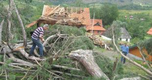 Торнадо у Новој Вароши, део Прибоја без струје