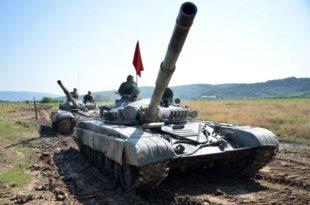 Српски војници стигли у Русију на Тенковски биатлон