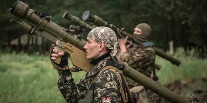 Борбе у Луганску (видео) 1