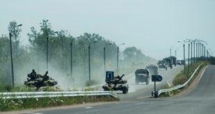 Снаге Доњецке републике код Славјанска први пут користе тенкове 10