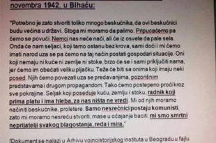 Цитат Моше Пијаде, заседање АВНОЈ-а 1942. Бихаћ