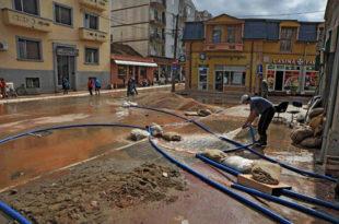 Параћин: Поплављено 2.228 хектара, штета 383 милиона динара