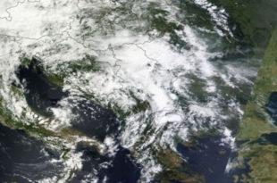 НАСА: Џиновски облак прекрио Србију