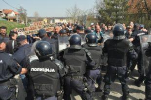 ММФ СОЛДАТЕСКА: МУП Србије саопштио да ће сутра снимати и фотографисати учеснике протеста против Закона о раду