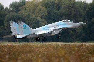 У Луганску оборен украјински МИГ-29 (видео)