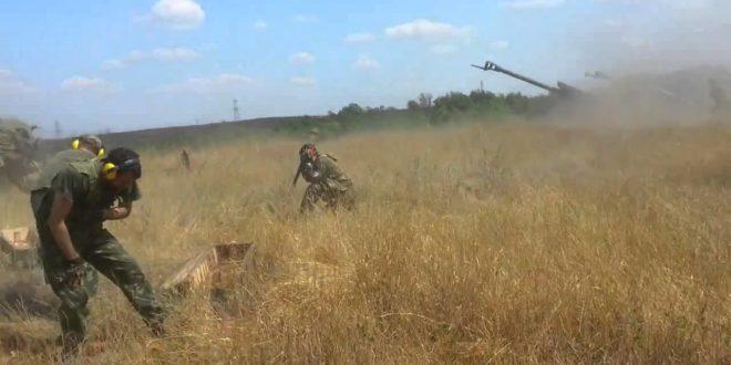 Артиљерија Новорусије код Доњецка и Луганска (видео) 1