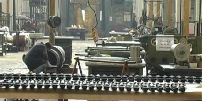 Крах индустријске производње у Србији