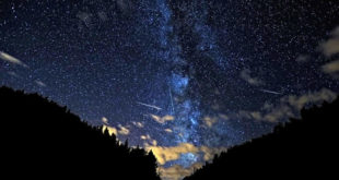 Вечерас супермесец и киша метеорита