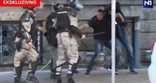 ЕКСКЛУЗИВНО: Шта се чуло на звучном запису док су жандарми из Ниша тукли Вучићевог брата (видео) 5