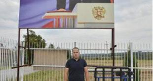 У ЗНАК ПОДРШКЕ И ЗАХВАЛНОСТИ: Србин направио билборд Владимиру Путину! 4