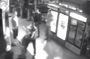 Немца педера на кварно ударио уличар а пропедерски и прозападни медији од тога направили линчовање?! (видео)
