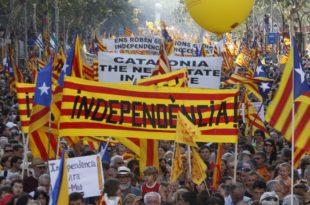 Шкотска покренула лавину: Каталонци на улицама траже референдум о независности