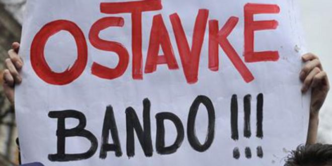 Одлазак Вучићевог велеиздајничког и лоповског режима или велики протест у Београду 13. априла