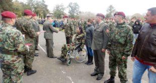 Војска Србије прославила седамдесет година од формирања падобранских јединица 6