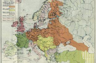О плановима Немачке да се врати у рејоне традиционалног утицаја Рајха у Источној Европи 2