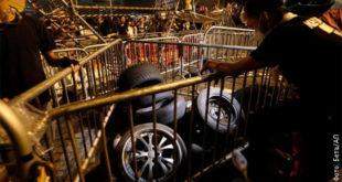 Хонгконг, сукоби и барикаде у тунелу 10
