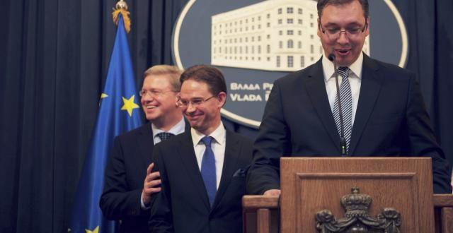 ШАРЕНА ЛАЖА: Да ли ико још верује небулозама и празним обећањима која стижу из ЕУ а да нису Дачић и Вучић?