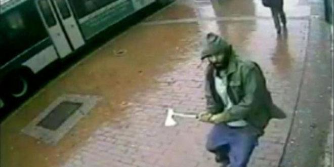 Џихад је стигао и на америчке улице:  У Њу Јорку џихадиста секиром напао полицију на улици 1