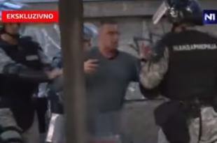 """Телохранитељ Александра Вучића који је његовом брату """"правио друштво"""" потегао пиштољ на жандарме!"""