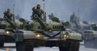 На покушаје припајања суверене територије Републике Србије Албанији српска држава ће одговорити војном силом!